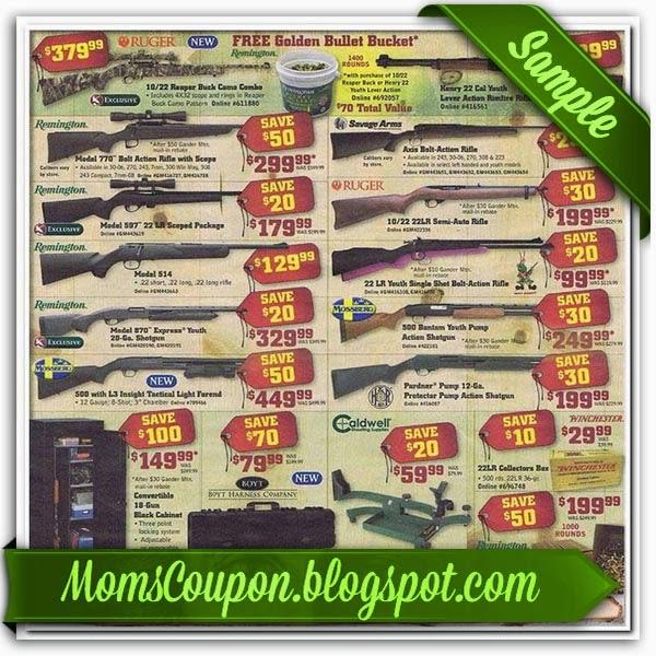 Gander mountain coupon code
