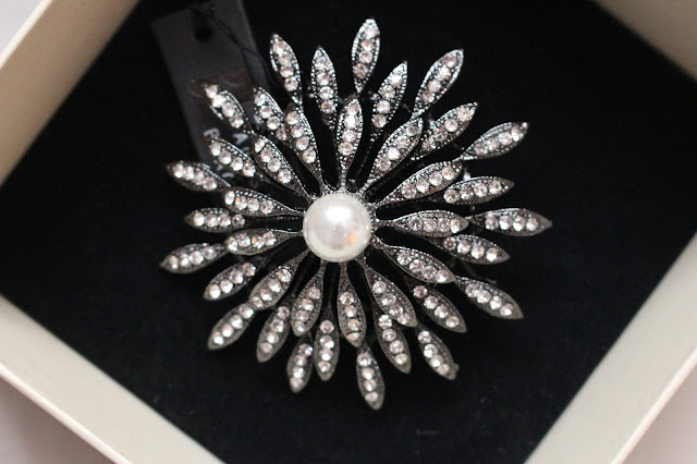 Betty Jackson brooch pretty posh