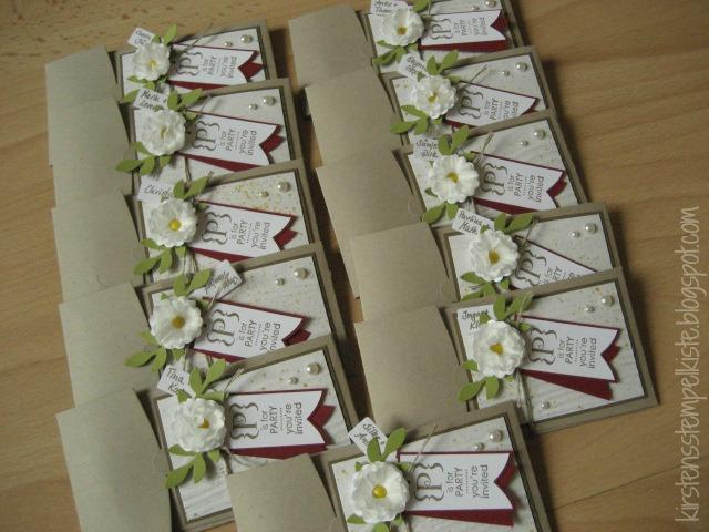 ... Aber Auf Dem Puzzle Ist Nochmal Der Stempel (gestempelt Mit Dem  Sternenschimmer Stempelkissen), Den Wir Auf Unseren Einladungen Zur Hochzeit  Hatten.