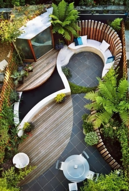 How to transform your small yard into a small paradise?
