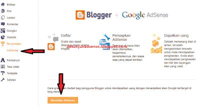 Cara Daftar Google Adsense Melalui Blogger 2015