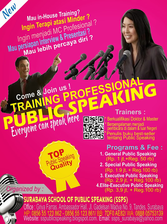 how to train public speaking