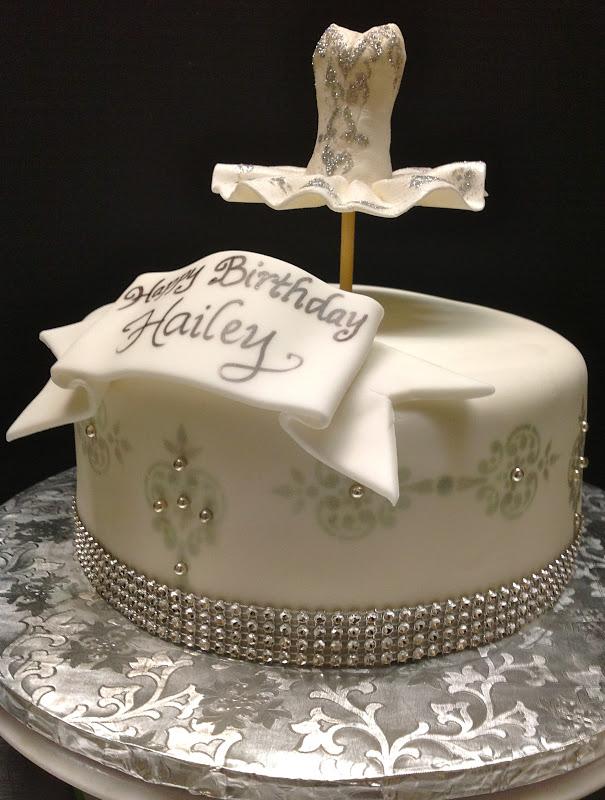 Plumeria Cake Studio Blingd Out Ballerina Birthday Cake