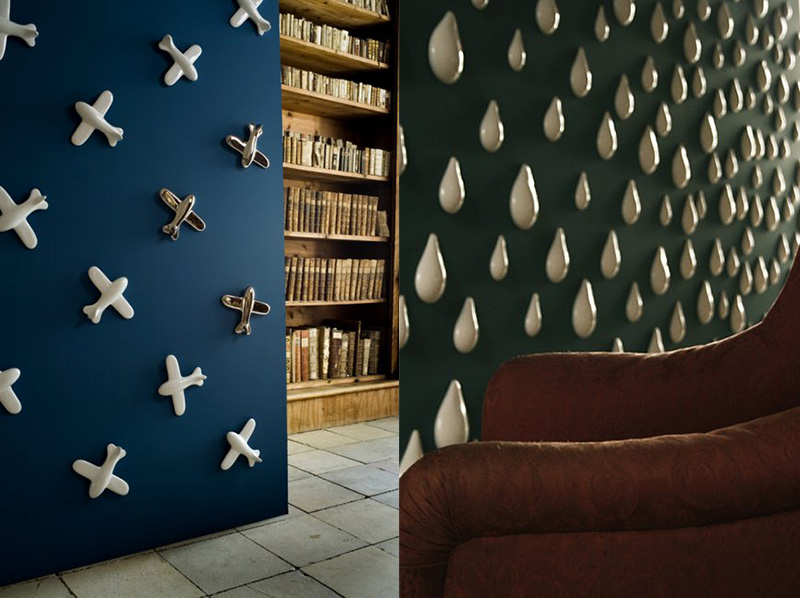 3d porcelain wallpapers by daniel pirsc on if it 39 s hip it for 3d interior wallpaper