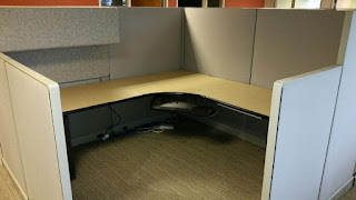 Used office cubicles, 8'x8' Herman Miller