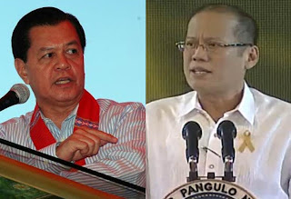 President BenignO S. Aquino III slams Kabayan Noli De Castro at the TV Patrol 25th Anniversary Party