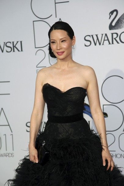 lady gaga 2011 cfda fashion awards. Actress Lucy Liu arrives at the CFDA Fashion awards at the Lincoln Center#39;s