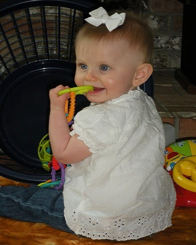 Adorable Photo bébé 8 mois