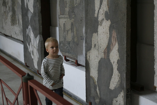 Anton and mosaics.