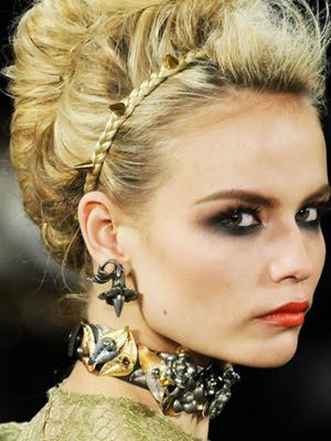 peinados 2014 recogidos con accesorios