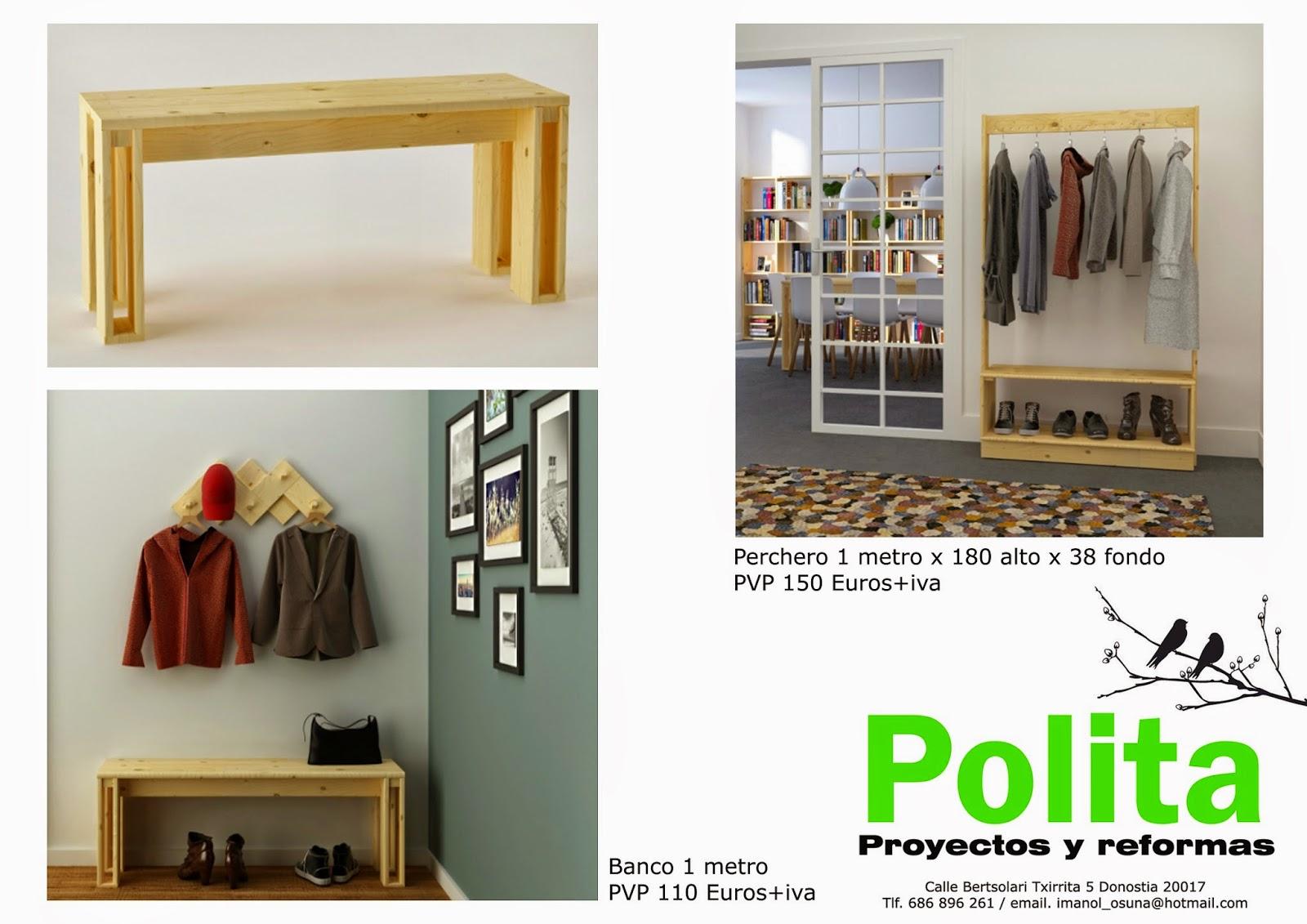 Polita proyectos y reformas top ventas muebles estilo for Muebles estilo nordico baratos