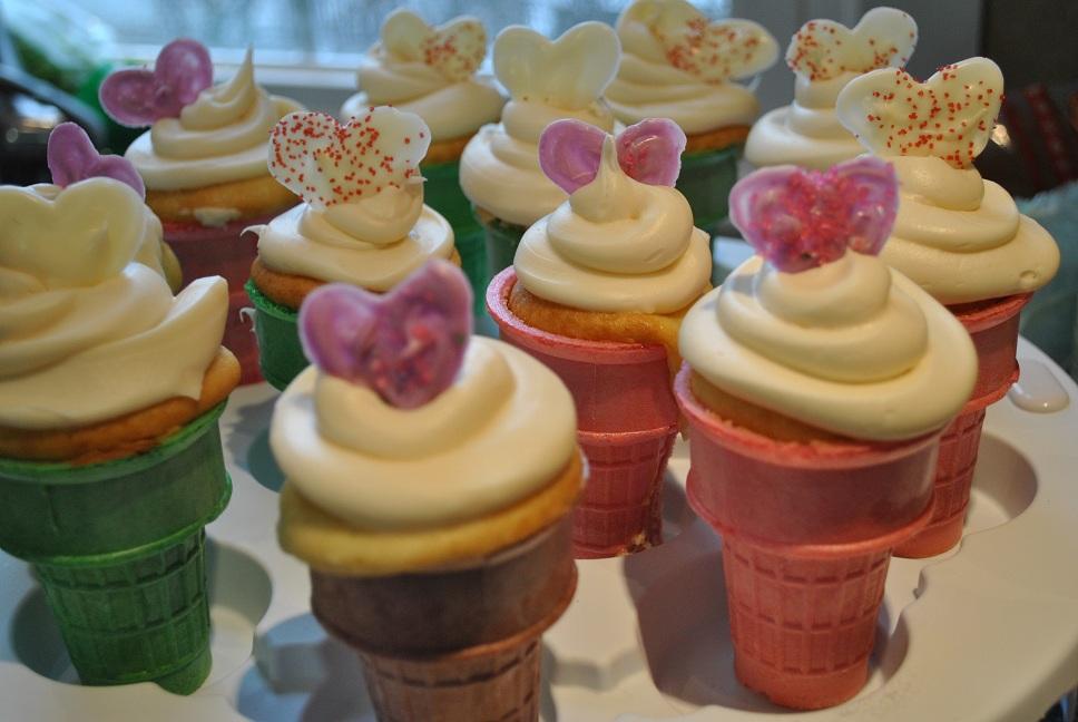 Ice Cream Cone Cupcake Carrier
