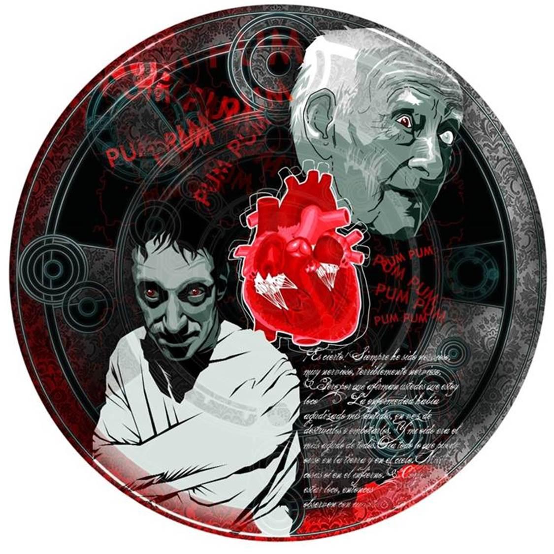 Calavera Diablo, Poe, Corazón Delator