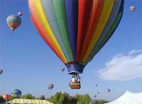modern hot air balloon