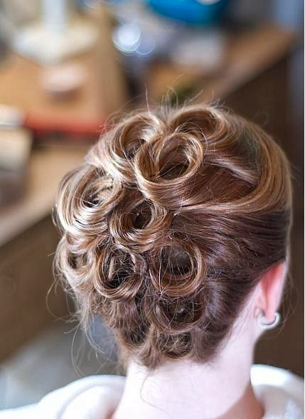 Updo Hairstyle For Brides