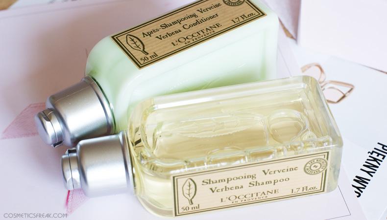 szampon odżywka loccitane werbena