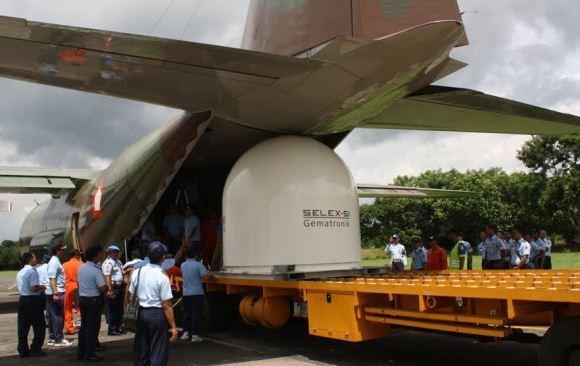 Radar Baru Lanud Abdurrahman Saleh