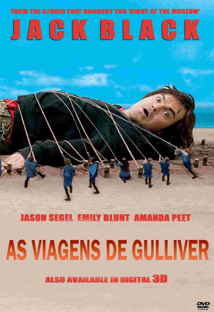 As Viagens de Gulliver Dublado