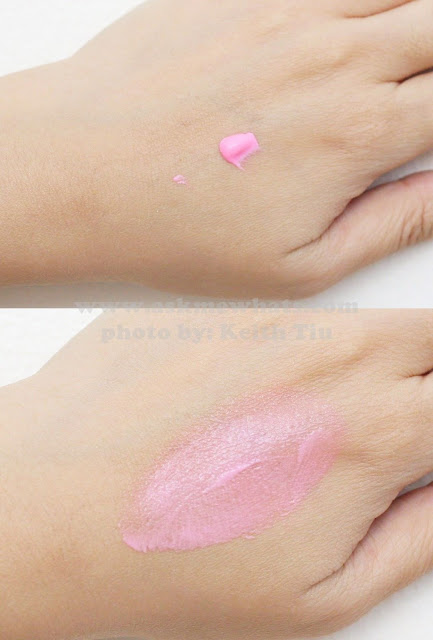 a swatch photo of Etude House Fresh Cherry Tint PK001 Pink