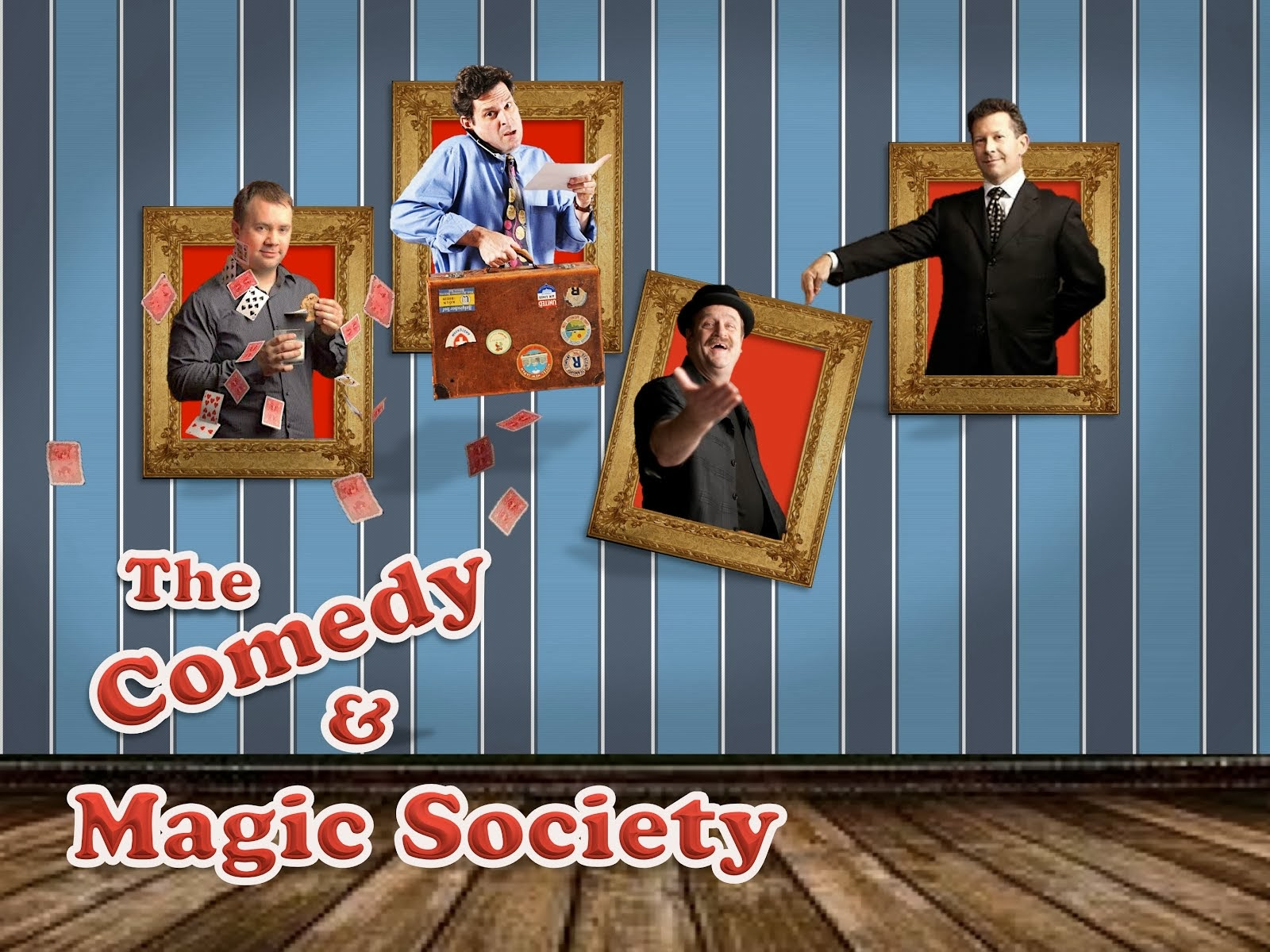 THE COMEDY & MAGIC SOCIETY