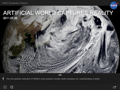 NASA Visualization Explorer App