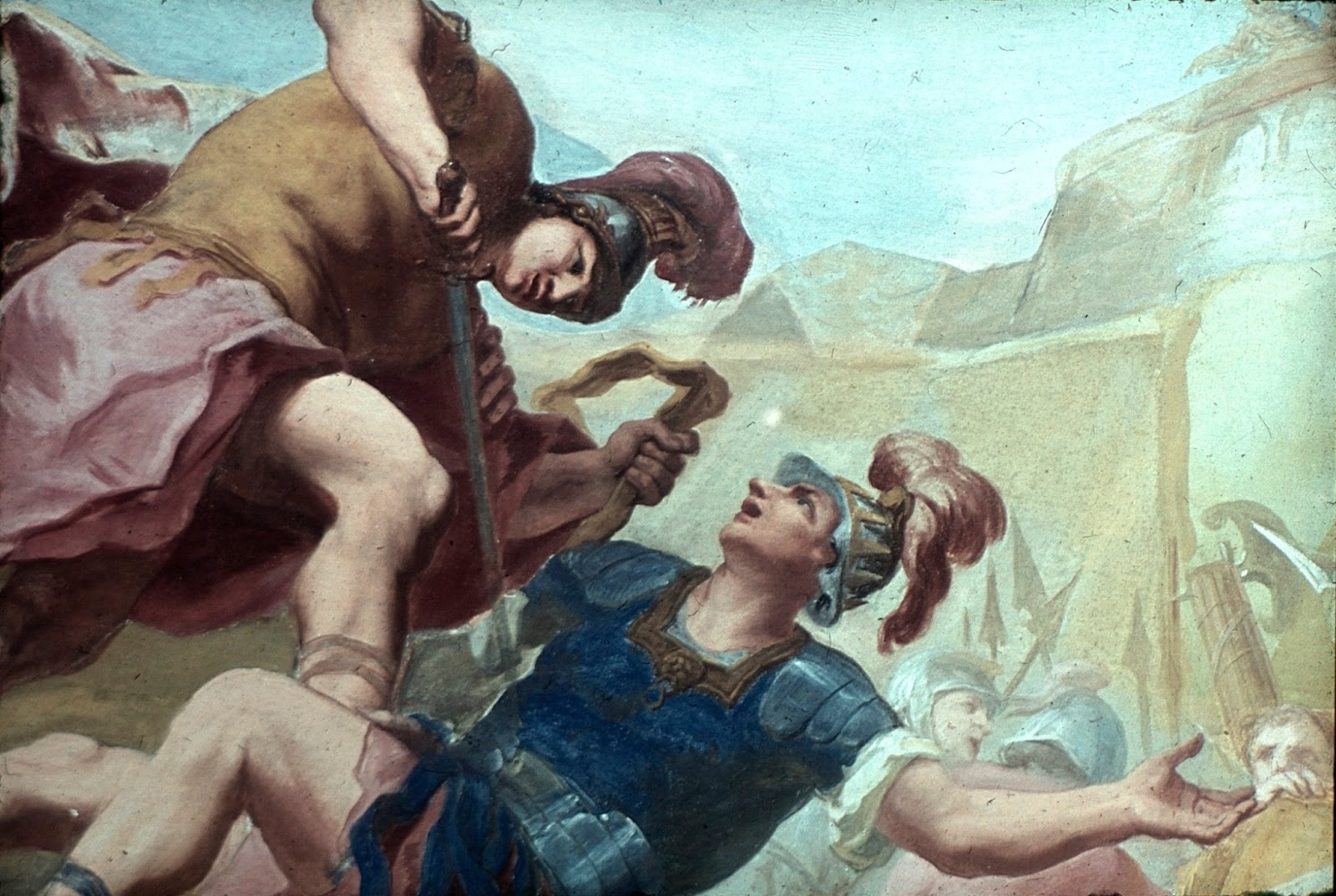 a comparison of heroic traits in aeneas and odysseus Aeneas is the protagonist, or main character, of the aeneid he is the son of anchises, a trojan prince, and venus, the goddess of love virgil portrays ae.