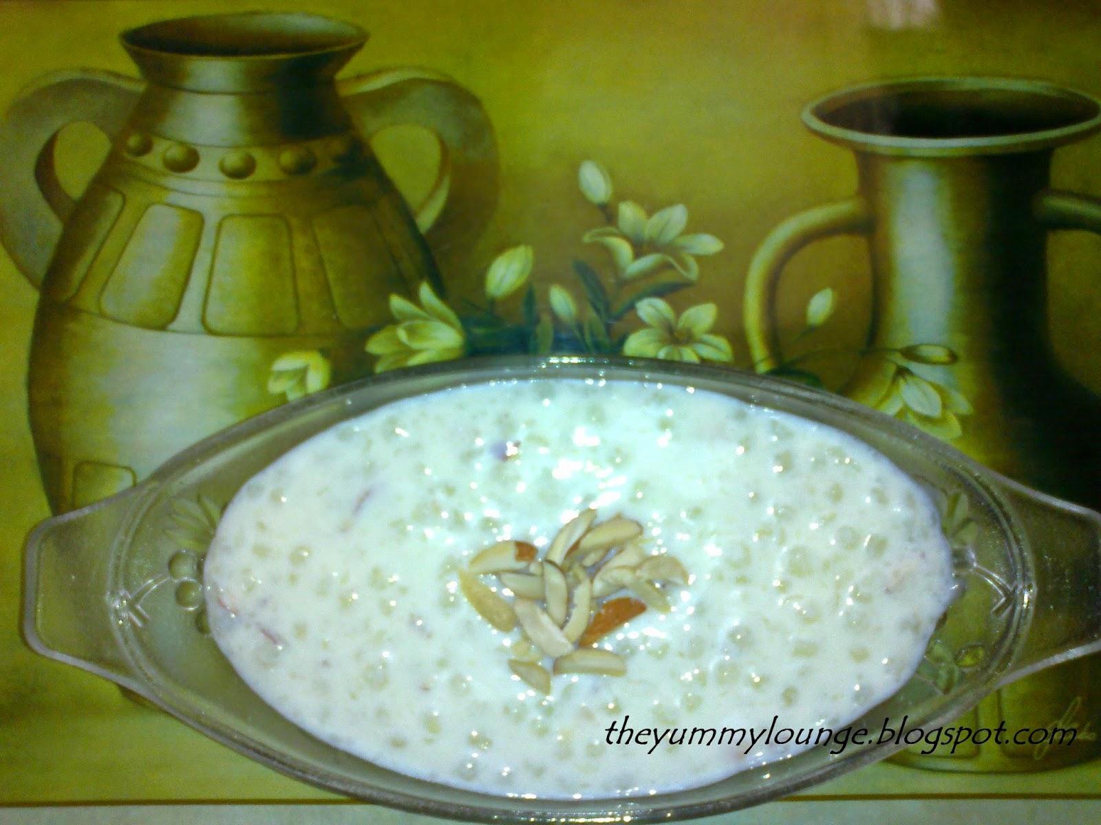 Sabudana Khir Recipe Tapioca Pudding