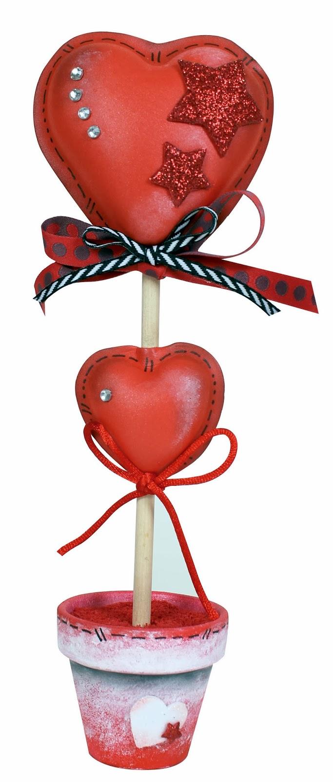 Manualidades goma eva San Valentín - Imagui