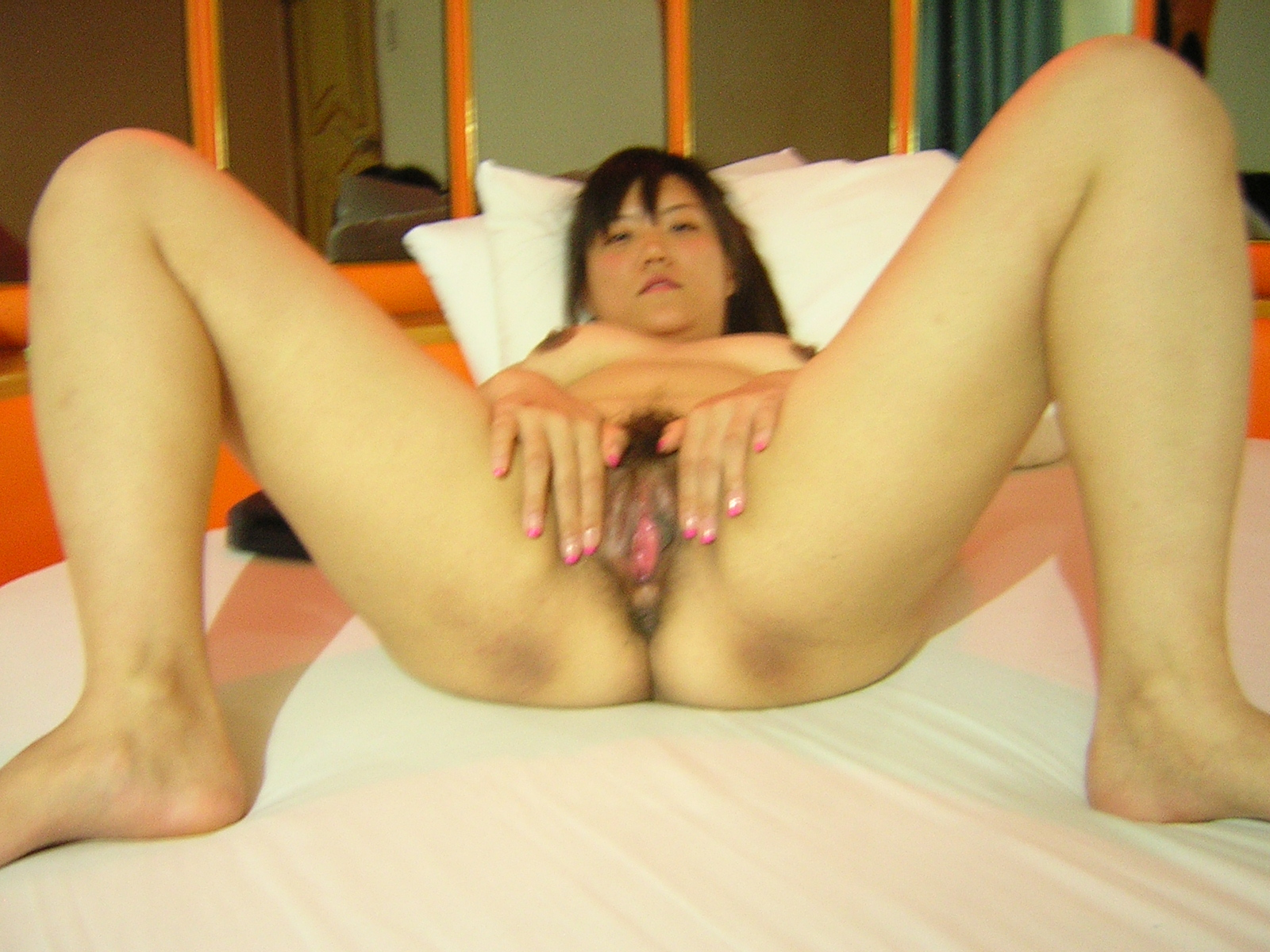 chubby but cute korean girlfriend s sweet pink vagina and
