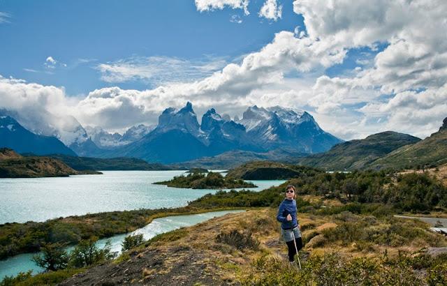 Proporciones inmensas en Torres del Paine