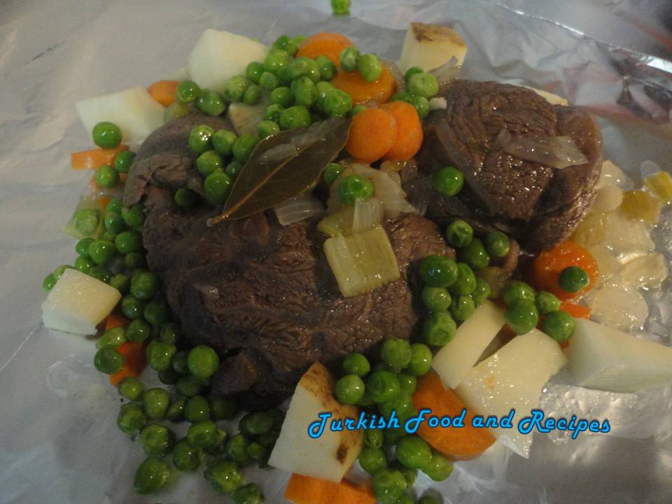 Turkish Style Beef Shanks (Firinda Dana Incigi)