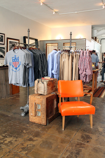 Back in Dean & Trent, we also produced clothes that gave a lot of emphasis  on classic and utility. And interior-wise, they also use a lot of vintage,  ...