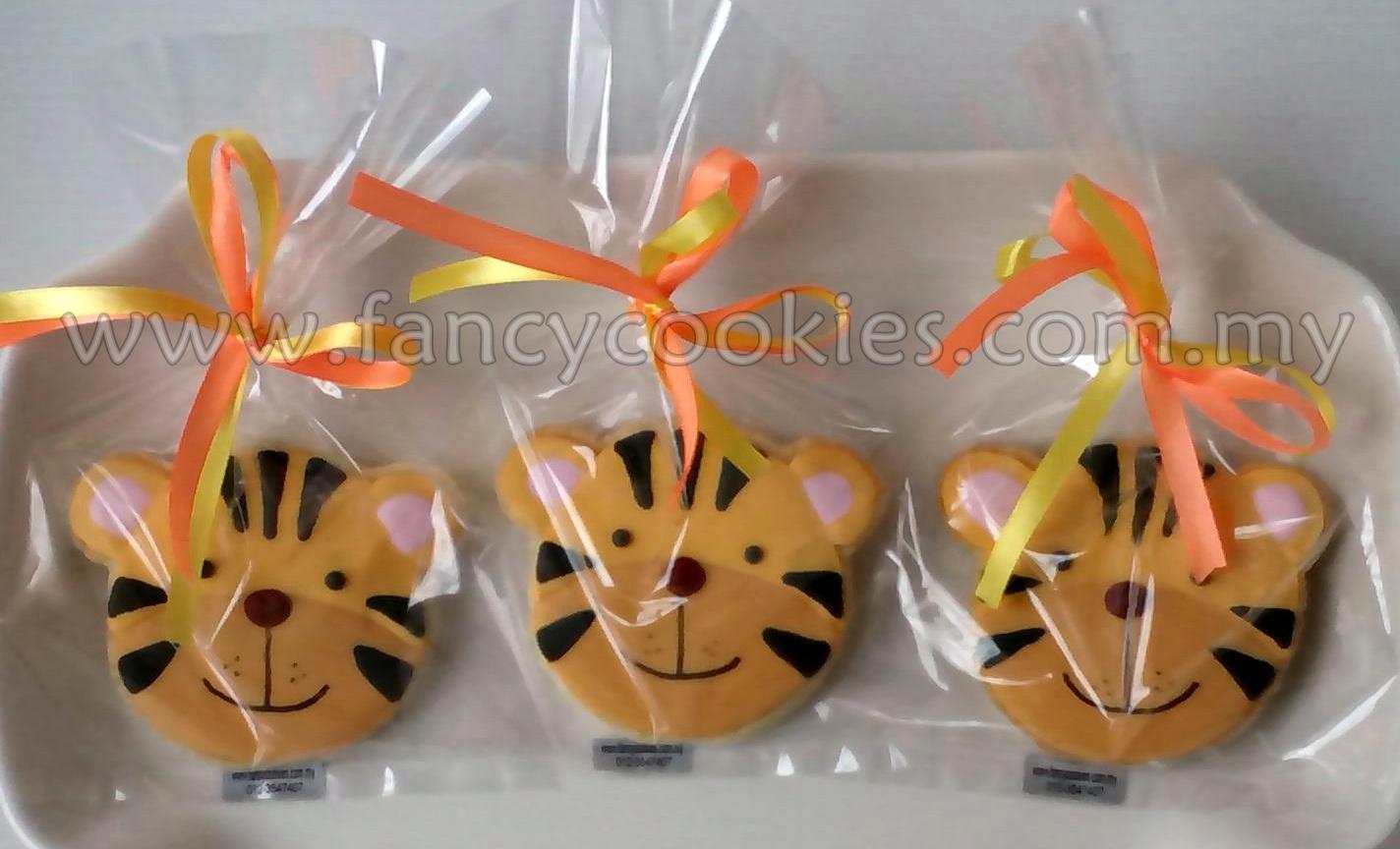 fancy cookies harimau malaya - tiger