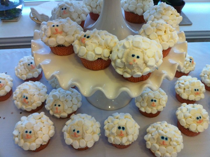 cakes by lauren sheep baby shower for little girl remington jade