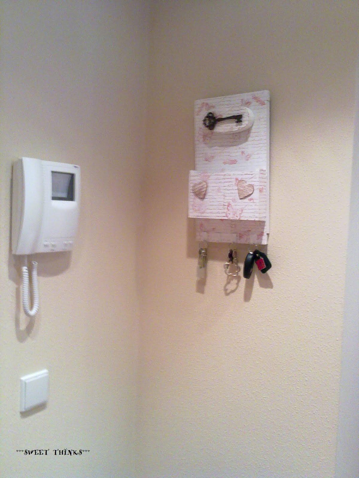 Sweet thinks cuelga llaves recibidor - Porta llaves pared ...