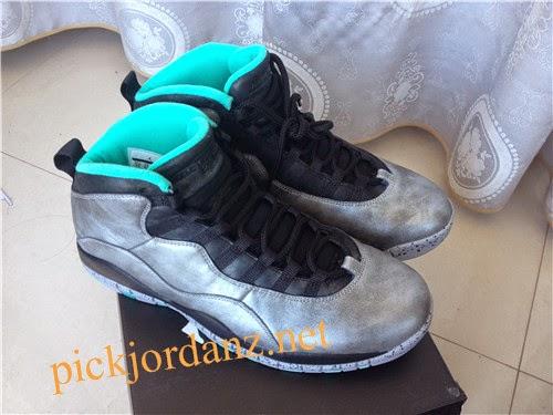 "Authentic air jordan 10 ""lady liberty"" shoes by pickjordanz.net"