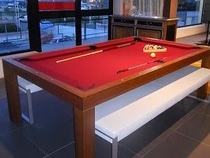 Un tavolo da pranzo anzi da biliardo for Tavolo da biliardo trasformabile in tavolo da pranzo