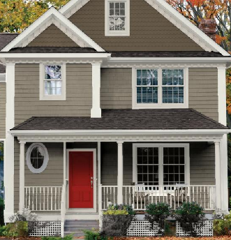 Decent home exterior design 2015 exterior paint color - Paint colors for exterior homes pict ...