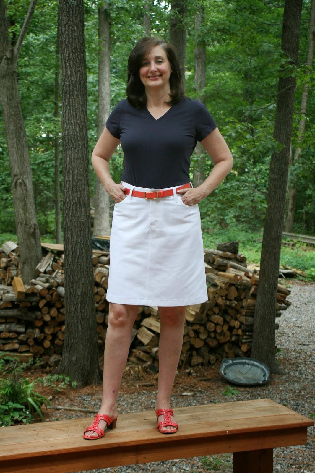 Love My Jean Skirt - Dress Ala