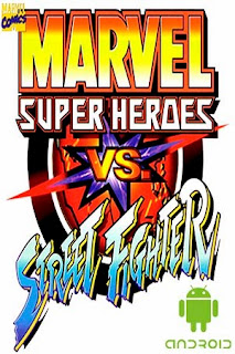 Poster Marvel Vs Street Fighters