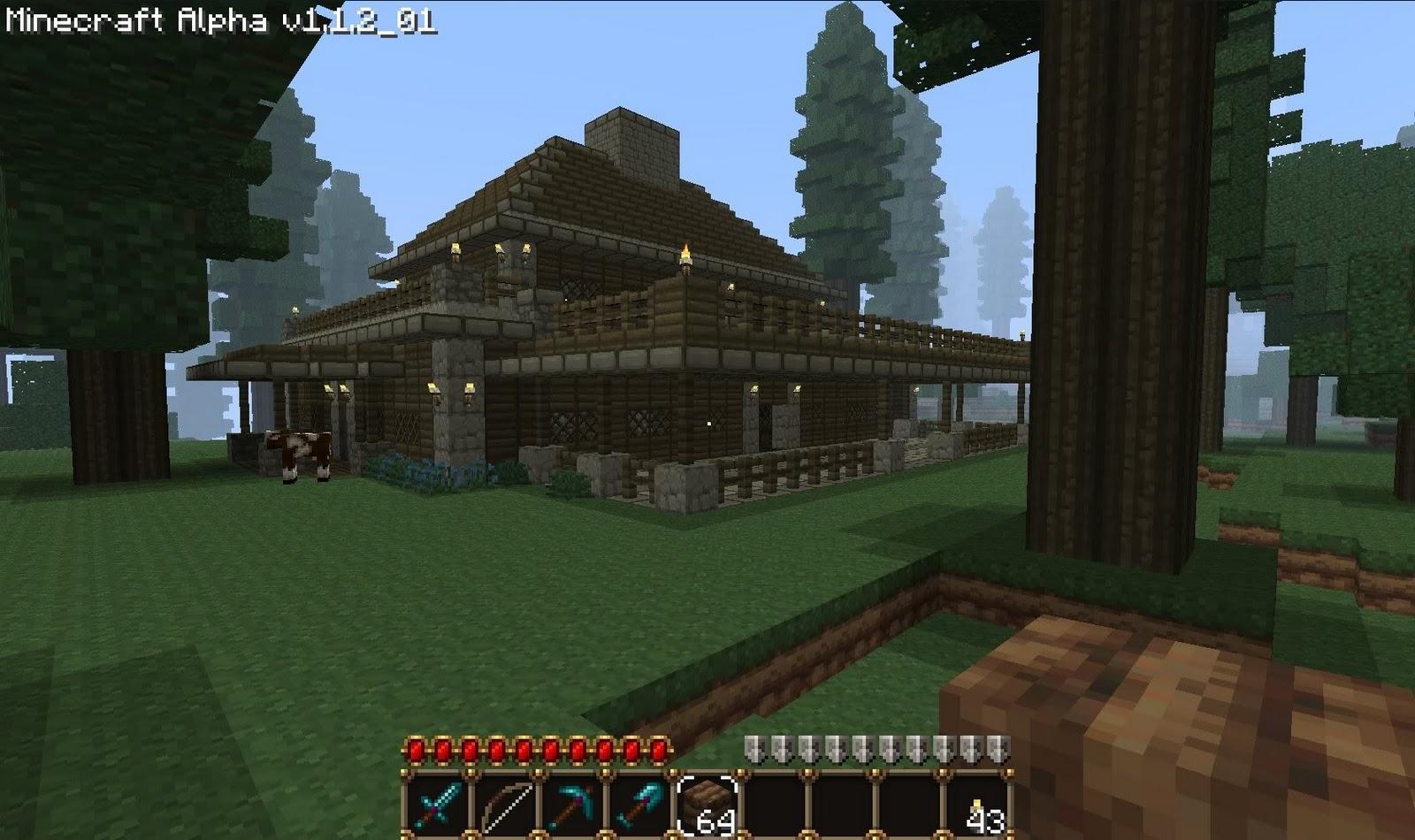 Minecraft Ideas Lodge
