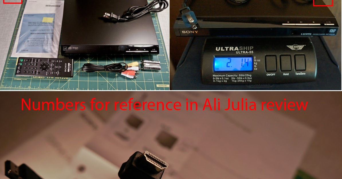 Ali Julia Product Reviews Product Review Sony Dvpsr510h