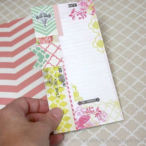 Using Journaling Card As A Pocket | Mini Album