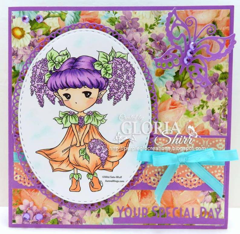 Featured Card at Aurora Wings Challenge Blog