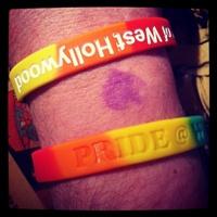Rainbow Wrist of Pride