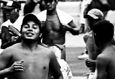 """De la serie """"Gente que he visto"""" de José Alberto Alegría Manrique, Gente, México, Blanco y Negro"""