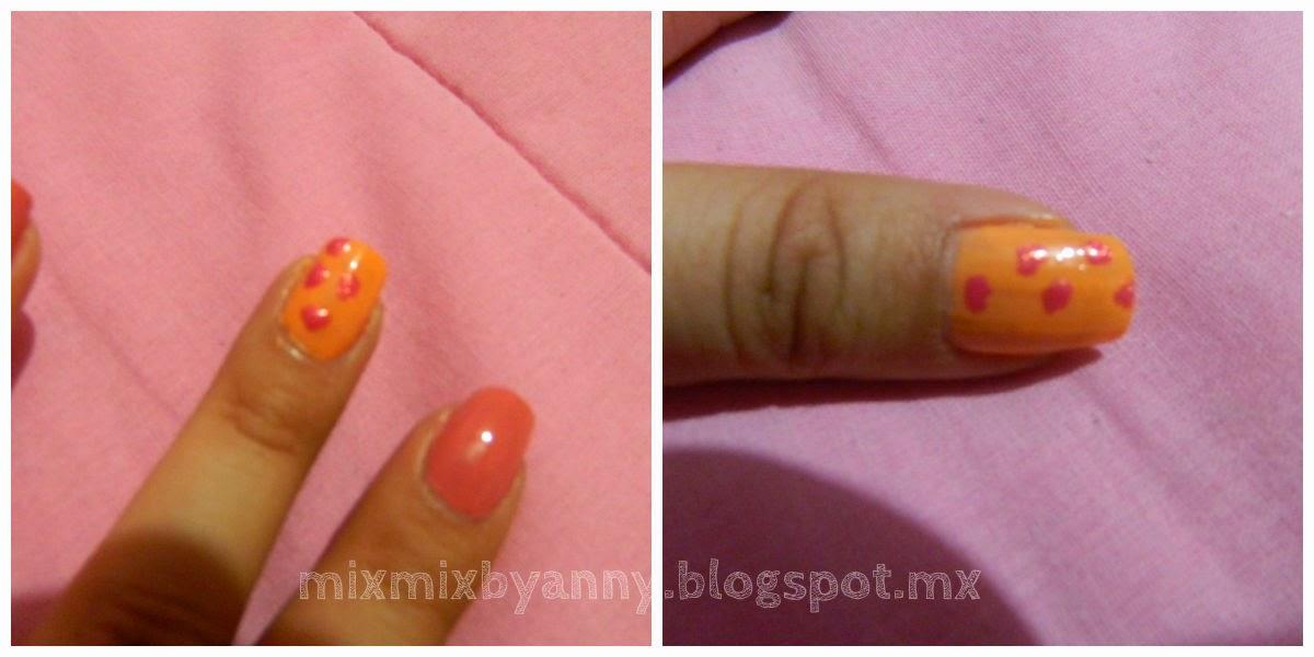 Mix Mix: Uñas animal print: melón&pink