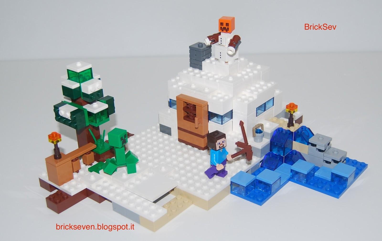 lego minecraft igloo