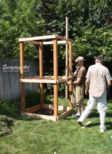 Everyday Art: DIY Wooden Swing Set