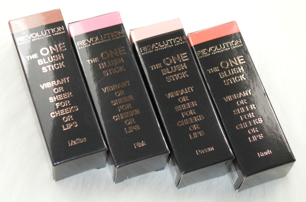 Makeup Revolution The One Blush Sticks - Review and Swatches